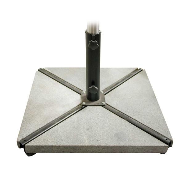 Aurinkovarjon jalka Roma, betoni - Mööpeli.com