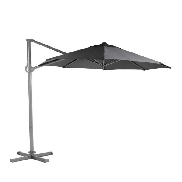 Roma aurinkovarjo, musta - Mööpeli.com