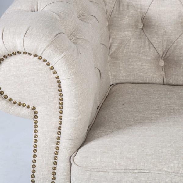 Holmes 2-istuttava sohva, beige - Mööpeli.com