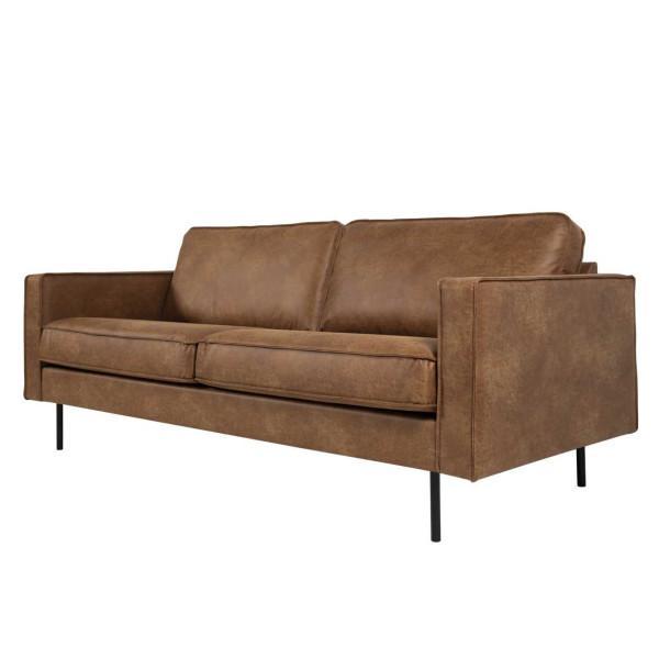 Copenhagen LUX 3-istuttava sohva ruskea - Mööpeli.com