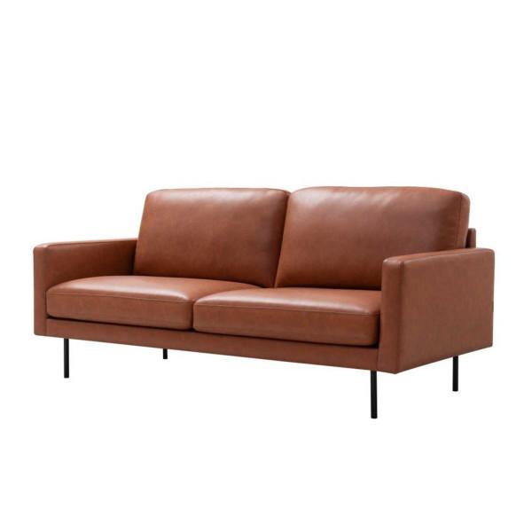 Central 3-istuttava sohva, terra/vaaleanruskea - Mööpeli.com