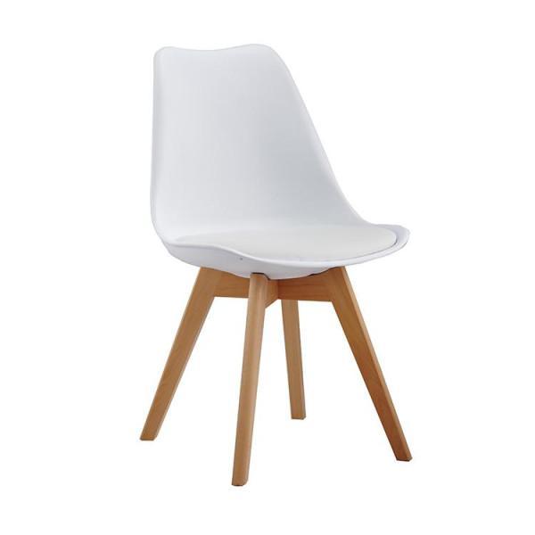 Nordic tuoli, valkoinen - Mööpeli.com