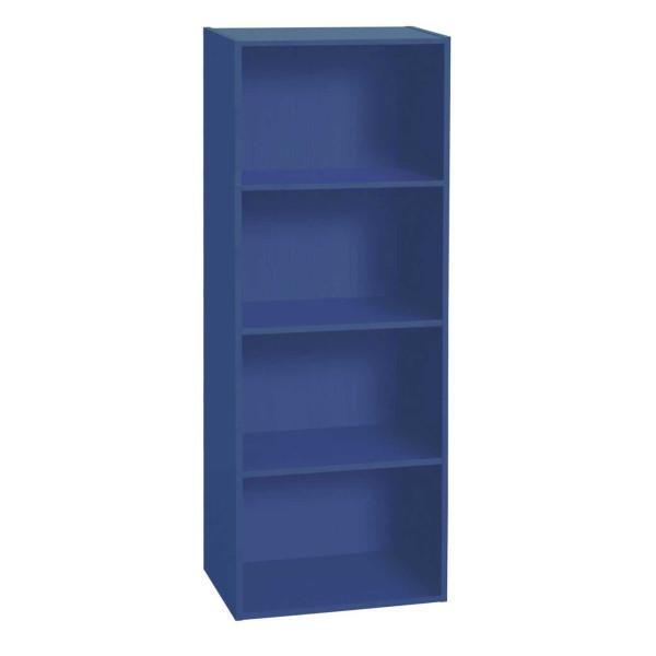 Naps 4-hylly, sininen - Mööpeli.com