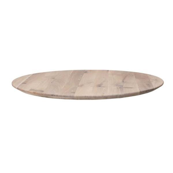 Boston massiivitammipöytä, pyöreä 128cm - Mööpeli.com